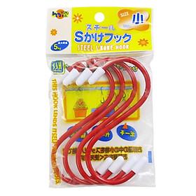 Set 4 Móc Treo Chịu Lực Chữ S (12 cm) - Nội Địa Nhật Bản - 1 set
