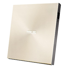 Ổ Đĩa Rời Đọc Và Ghi CD/DVD Asus 08U9M-U Ultra Slim (Gold) - Hàng Chính Hãng
