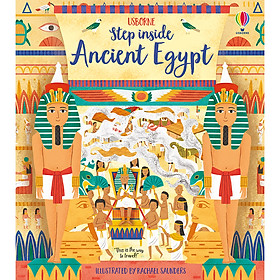 Sách Usborne: Step Inside Ancient Egypt