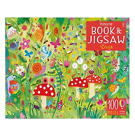 Usborne Picture Puzzle Book and Jigsaw Bugs