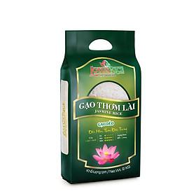 Gạo Thơm Lài Lotus Rice 2kg - Cơm mềm dẻo vừa - Chuẩn xuất khẩu