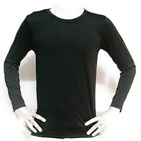 áo tập thể thao tay dài nam nữ đen xanh đen 2020