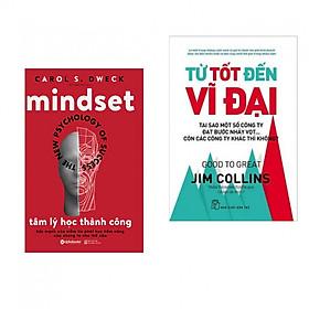 Combo sách hay : Tâm lý học thành công + Từ tốt đến vĩ đại - Tặng kèm bookmark thiết kế