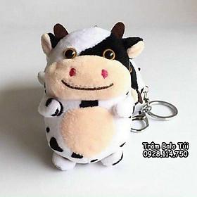 Móc khóa bò sữa béo
