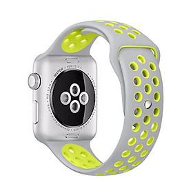 Dây đeo silicon thể thao thay thế cho Apple Watch 42mm / 44mm hiệu Coteetci cao cấp (chất liệu silicon cao cấp, thiết kế ôm sát tay, siêu chắc chắn) - Hàng nhập khẩu