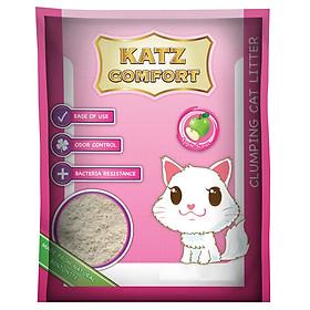Cát Vệ Sinh Mèo Katz Comfort Hương Táo (5L)
