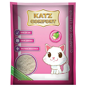 Cát Vệ Sinh Mèo Katz Comfort Hương Táo (10L)