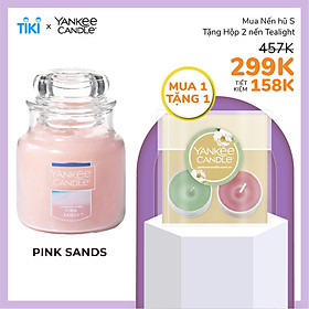 Nến hũ Yankee Candle size S - Pink Sands (104g)