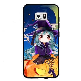 Hình đại diện sản phẩm Ốp lưng Halloween viền TPU cho điện thoại Samsung Galaxy S7 - Mẫu 04