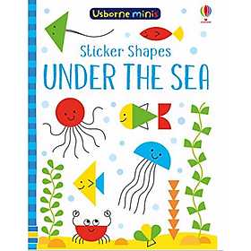 Usborne Sticker Shapes Under the Sea