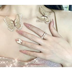 Bộ 24 móng tay giả nail thơi trang như hình (M-204)