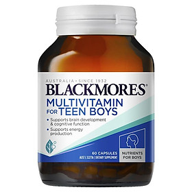 Blackmores Multivitamin for Teen Boys 60 Capsules