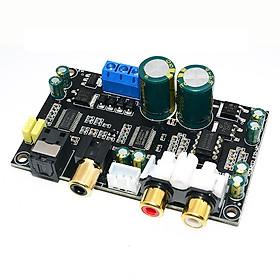 Mạch giải mã DAC cáp đồng trục HIFI 24bit 192KHz độ chân thực cao dùng chip CS8416CS4398 D00-515