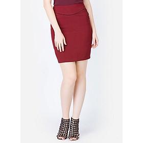 Hình đại diện sản phẩm Chân Váy Nữ Ôm Túi Cong - Đỏ Đô