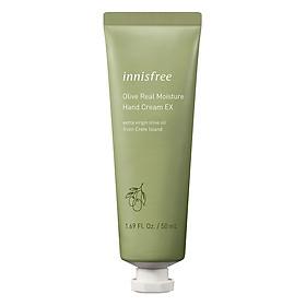 Kem Dưỡng Da Tay Hương Olive Innisfree Olive Moisture Hand Cream EX 50ml - 131171030