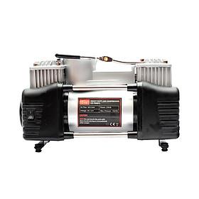 Máy bơm lốp ô tô 2 xi lanh có đèn CIND CD-P006TL