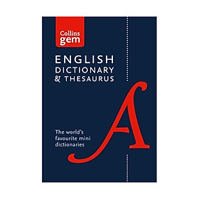 Collins Gem English Dictionary & Thesaurus