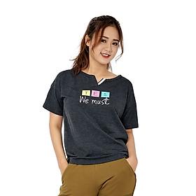 Hình đại diện sản phẩm Áo T-shirt Nữ Delta Tay Ngắn TS027W - Đen