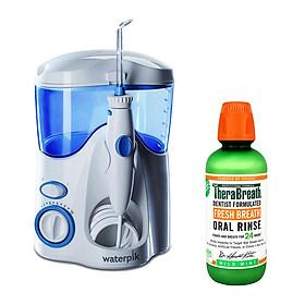 Máy Tăm Nước Waterpik Ultra WP-100 + Tặng 1 nước súc miệng TheraBreath thương hiệu Mỹ