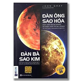 Sách - Combo 2 cuốn: Đàn Ông Sao Hỏa Đàn Bà Sao Kim (bản International) và Cơ Thể 4 Giờ (tùy chọn lẻ, combo)
