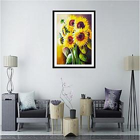 Diamond Cross Stitch 5D Diamond Painting Full Of Diamonds Sunflower E606