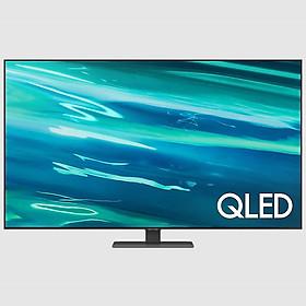 Smart Tivi QLED Samsung 4K 55 inch QA55Q80A Mới 2021
