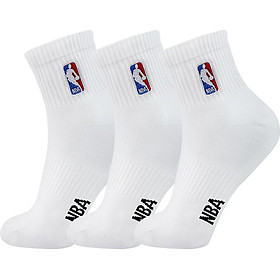 Vớ Bóng Rổ Cotton Nam NBA