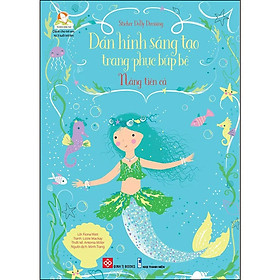 Sticker Dolly Dressing - Dán Hình Sáng Tạo Trang Phục Búp Bê - Nàng Tiên Cá