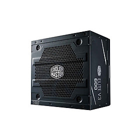Nguồn Máy Tính Công Suất Thực Cooler Master Elite V3 600W - Hàng Chính Hãng