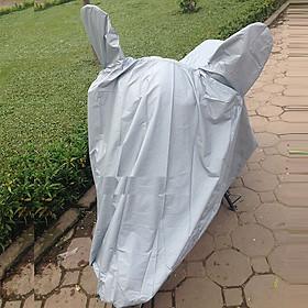 Bạt Phủ Xe Máy Vải Dù Siêu Bền. Bạt Trùm Xe Máy Thiết kế gọn gàng vừa khít với các loại xe che nắng; mưa