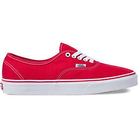 Giày Sneaker Unisex Authentic Vans VN000EE3RED - Red