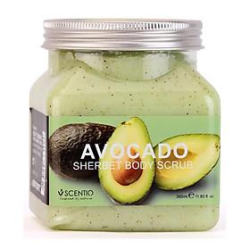 Tẩy Tế Bào Chết Toàn Thân Dưỡng Ẩm Và Sáng Mịn Da Hương Bơ Scentio Avocado 350ml
