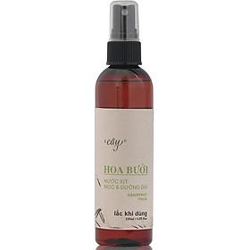 Nước dưỡng tóc Hoa Bưởi giúp tóc mọc dài và dày (120ML) - Tinh Dầu Cây