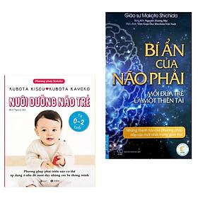 Combo Sách Tư Duy Cho Trẻ và Bố Mẹ Hay:  Nuôi Dưỡng Não Trẻ+  Bí Ẩn Của Não Phải  ( Tặng Kèm Bookmark Green Life )
