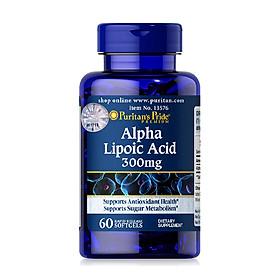 Thực phẩm bảo vệ sức khỏe Alpha Lipoic Acid 300mg (60 viên)