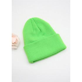 Mũ len trùm đầu phong cách Hip Hop NL18 Màu xanh lá