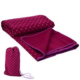 Yoga Mat Cover Breathable Skidproof Yoga Towel Moisture-wicking Yoga Towel Mat