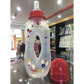 Bình sữa Baby Kute bằng nhựa PP tay cầm 250ML nhập khẩu từ Thái Lan