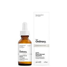 Tinh chất The Ordinary 100% Plant - Derived Squalane 30ml