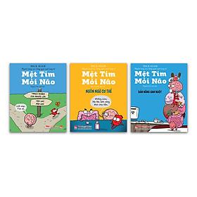 Combo Mệt Tim Mỏi Não ( 3 cuốn )