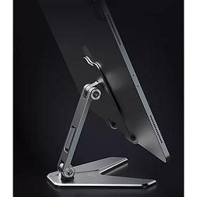 Giá đỡ điện thoại và máy tính bảng tablet hợp kim nhôm có thể gấp gọn P10 Vu Studio - Hàng chính hãng