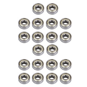 20 Pieces 608 zz (ABEC-7) Roller Skate Wheel Bearing , Skateboard Scooters