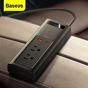 Bộ chuyển đổi nguồn điện 12V ra 220V - 150W trên ô tô Baseus Power Inverter 150W - Hàng chính hãng