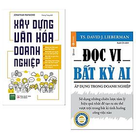 Combo Sách Quản Trị Nhân Lực - Kỹ Năng Làm Việc Hay: Xây Dựng Văn Hóa Doanh Nghiệp +  Đọc Vị Bất Kỳ Ai - Áp Dụng Trong Doanh Nghiệp ( Tặng Kèm Bookmark Happy Life)