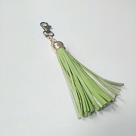 Móc chìa khóa chuông tua rua, đẹp, độc đáo (Nhiều màu để chọn)