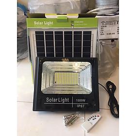 Đèn pha LED năng lượng mặt trời 100W - RB LIGHTING