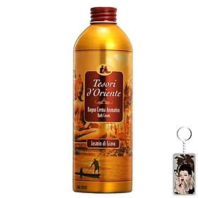 Dầu tắm hương hoa nhài Tesori D' Oriente Jasmin Java 500ml + Móc khóa