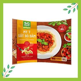 Mỳ Ý Sốt Bò Bằm SG Food Túi 250g