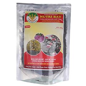 Phân dơi NUTRI BAT nguyên chất 100% chuyên cho hoa Lan - Mai Vàng và hoa cảnh giúp BUNG ĐỌT - KÍCH RỄ - HOA TO - LÁ DÀY và kháng sâu bệnh Gói 300g