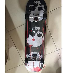 Ván Trượt  Skateboard  Gỗ 1500- 7 trục hợp kim + gỗ ép 3 lớp